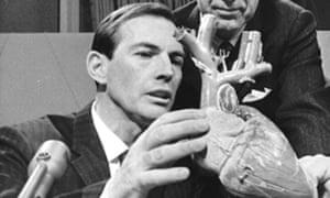 Dr Christian Barnard.