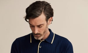 Moody blue: classic polo from King & Tuckfield