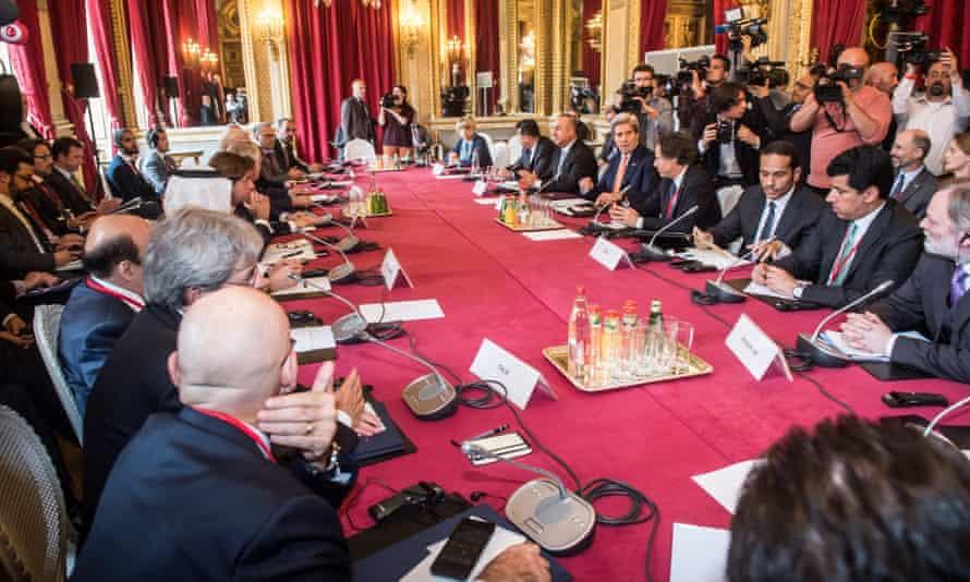 Syria talks in Paris