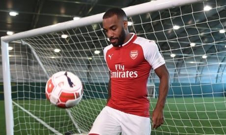 Alexandre Lacazette poised to make Arsenal debut in Sydney
