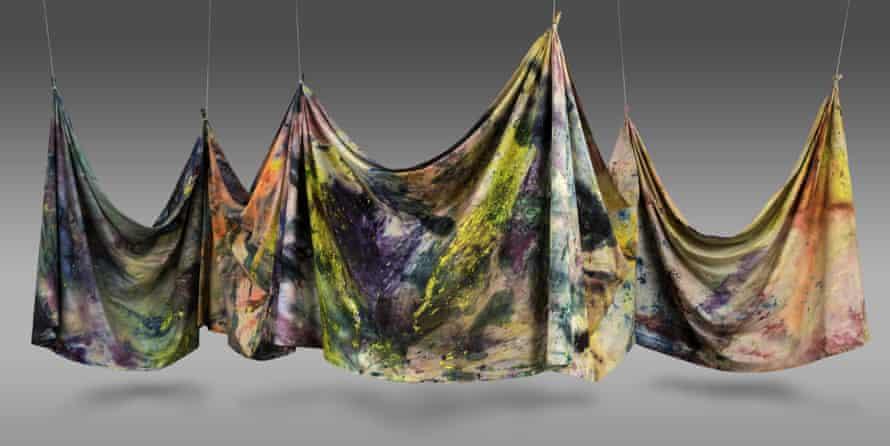 Sam Gilliam - Carousel Form II