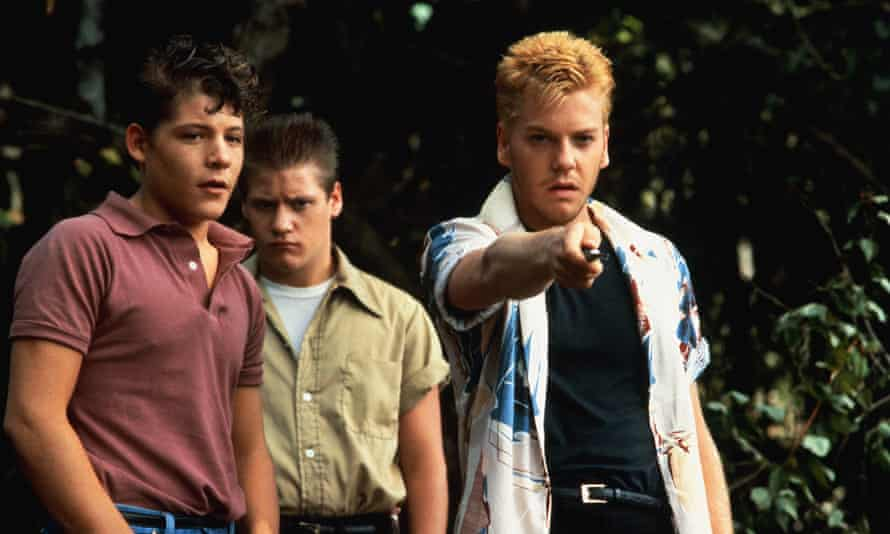 'This is an asshole to the marrow of his bones' ... Kiefer Sutherland as Ace Merrill (right).