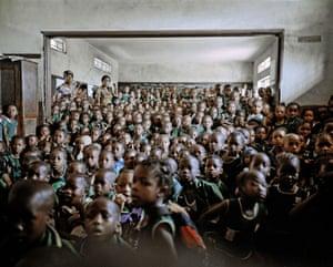 Cholera education, Holy Trinity Primary School - Freetown, Sierra Leone 2012
