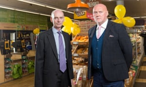 The Co-operative Group CEO Richard Pennycook (left) and chairman Allan Leighton.