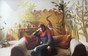 Deborah Moggach - handout IMG 0890 'a mural I painted in my sister Alex Hough's flat, back in the 70s. That's her in the pic'