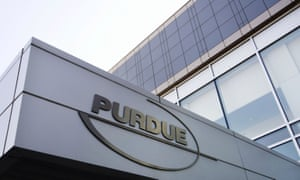 The Purdue Pharma offices in Stamford, Connecticut.