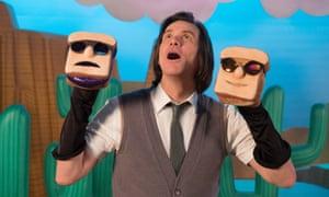Jim Carrey as Mr Pickles in Sky Atlantic's Kidding
