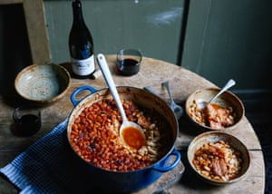 Fergus Henderson's beans and bacon recipe