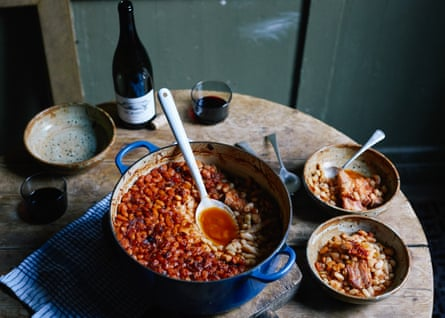 Fergus Henderson's beans and bacon recipe
