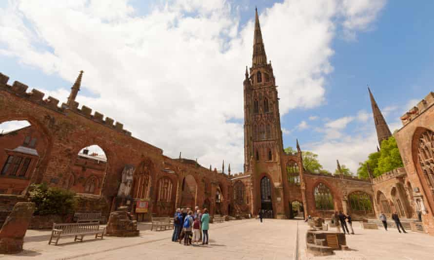 The Old St Michael's Cathedral in Coventry.