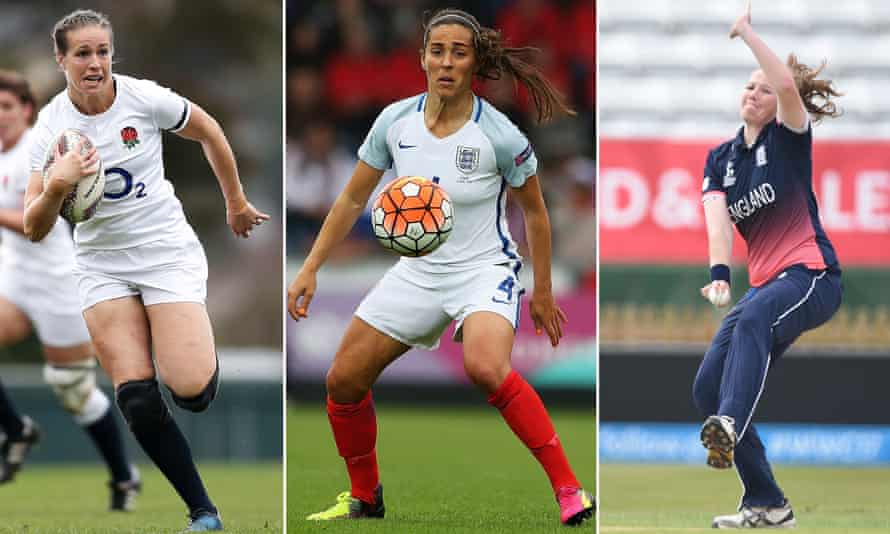 England's women in action