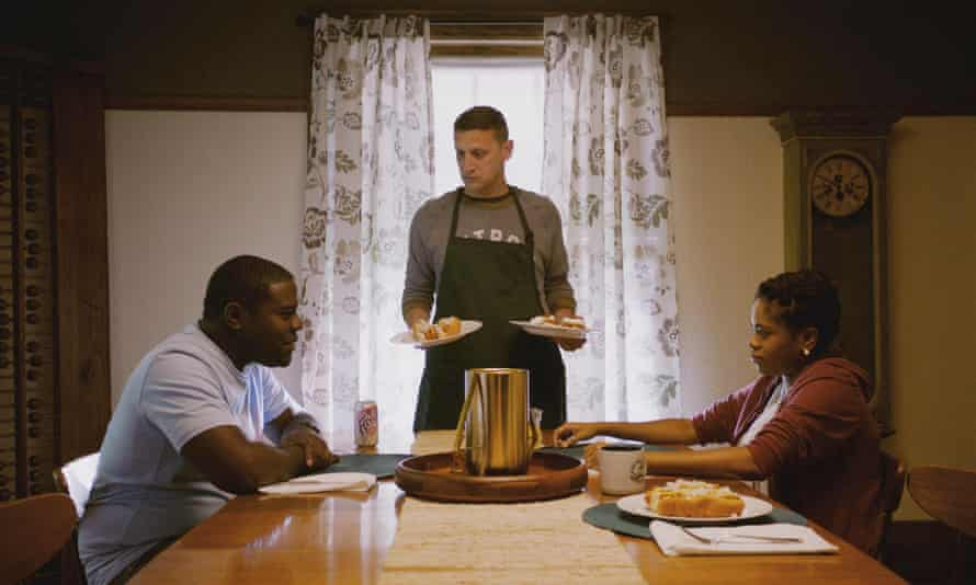 From left: Sam Richardson, Tim Robinson and Shawntay Dalon in Detroiters.