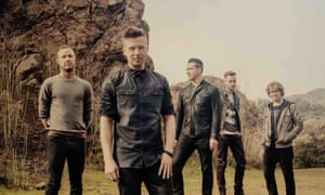 Tedder with his band OneRepublic.