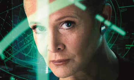 Carrie Fisher in Star Wars: Episode VII – The Force Awakens.