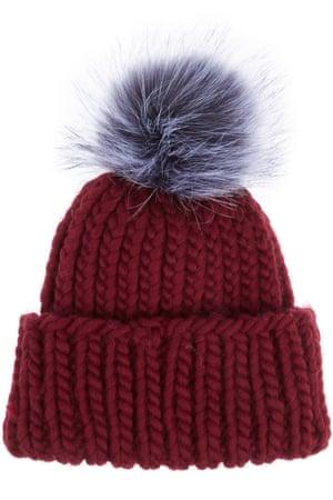 Pompom beanie hat. £175, by Eugenia Kim from net-a-porter.com