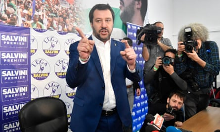 'Part of an international trend of growing nationalist and xenophobic movements.' Matteo Salvini of the League.