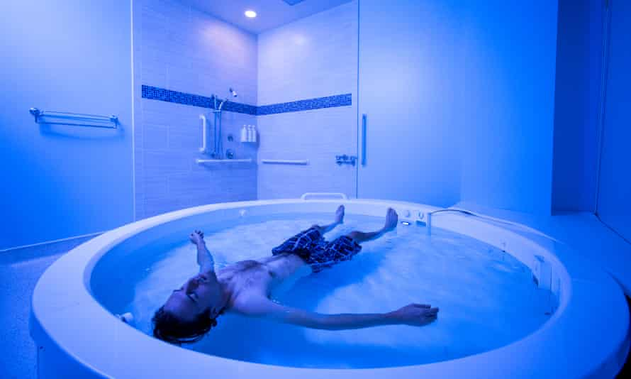 The Float Tank research area at the Laureate Institute for Brain Research.