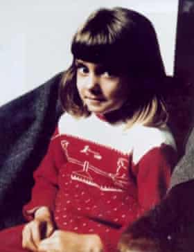 Sinéad O'Connor aged about five