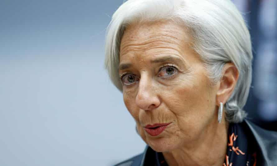The head of the IMF, Christine Lagarde, described the programme as ambitious, tough and 'not without risk'