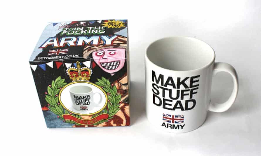 Darren Cullen Make Stuff Dead Army mug