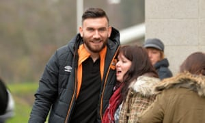Robert Snodgrass meets a fan earlier this year.