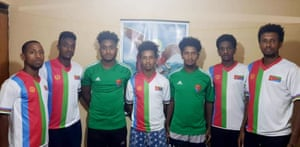 The Eritrean players Abiel Oqbay, Isaias Abraham, Ismail Sultan, Eyob Girmay, Robel Kidane, Yosief Mebrahtu and Filimon Semere are in hiding in Uganda.