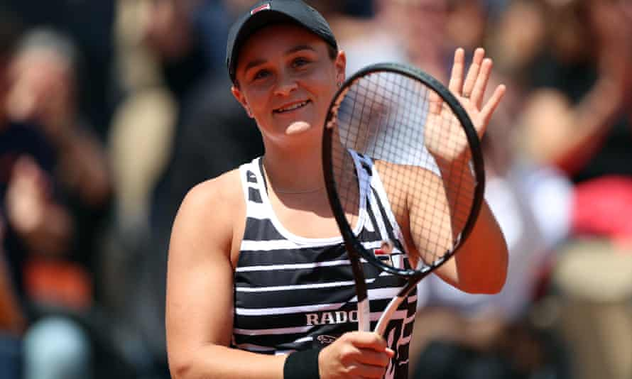 Australia's No 1 Ashleigh Barty has been relegated to an outside court at the French Open for her first grand slam semi-final because of rain delays.