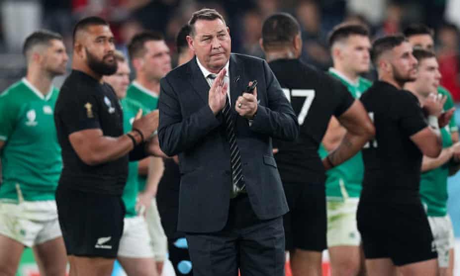 Steve Hansen has all eyes on England after New Zealand's comprehensive win over Ireland.