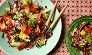 ... Persian rice, and bagna cauda salad | Life and style | The Guardian