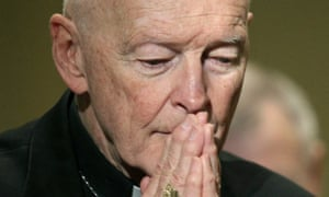Theodore McCarrick resigned as a cardinal last month, but says that he is innocent.