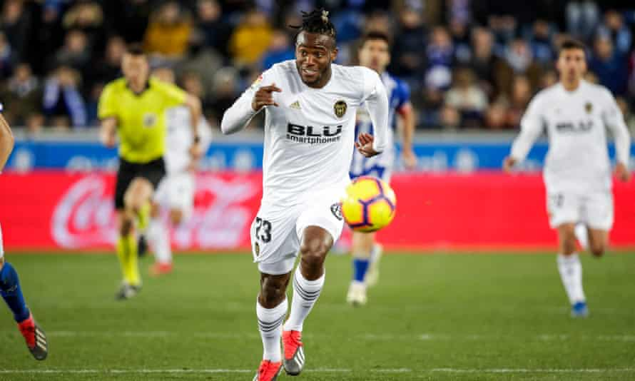 Michy Batshuayi scored one goal in 15 appearances for Valencia who wanted to terminate his loan from Chelsea.