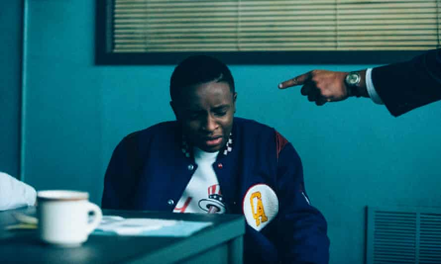 Caleel Harris in When They See Us.