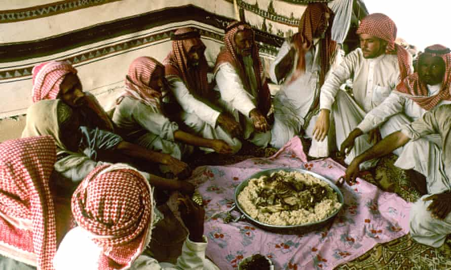 Hospitality to travellers plays an important part in Arab society.