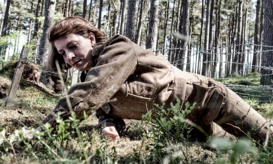 Totally wired: tackling the assault course in Secret Agent Selection.