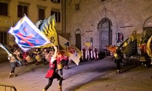 Jousting, Cortona, Tuscany
