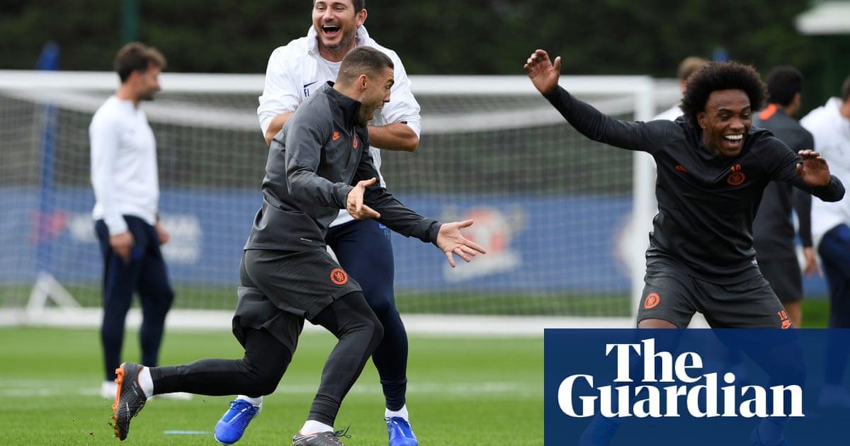 Frank Lampard wary of Valencia threat despite off-field uncertainty