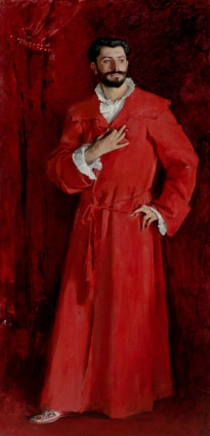 Dr Pozzi at Home (1881) by John Singer Sargent.