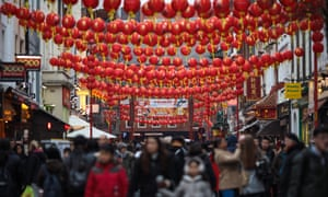 Chinatown, the heart of London's Chinese community.