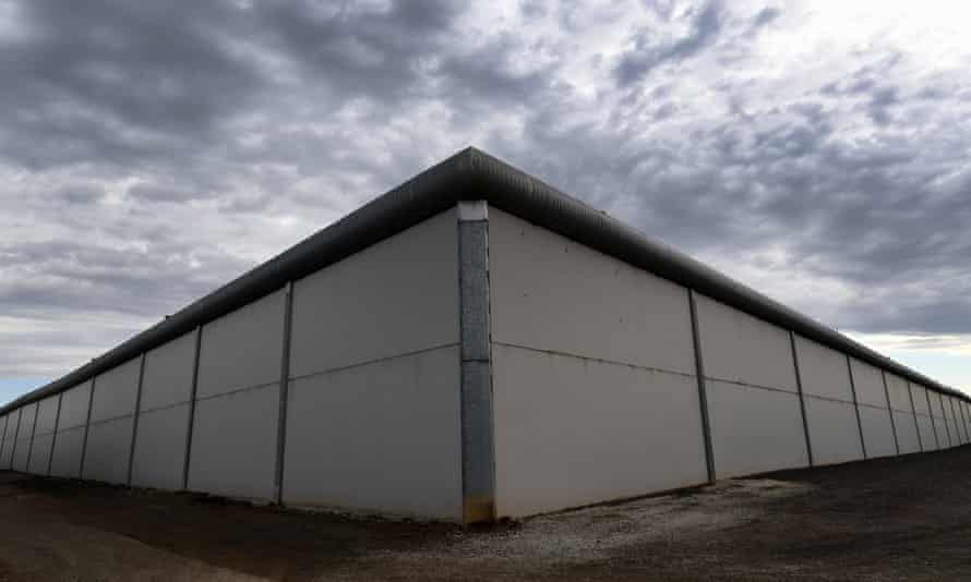 Exterior of the Metropolitan Remand Centre in Ravenhall west of Melbourne
