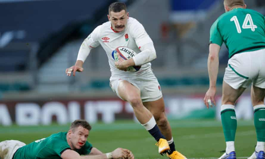 It wasn't just the speed or the skill of Jonny May's second try against Ireland but the wit, and impudence of it, the imagination.