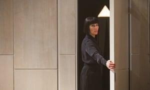 Tamsin Greig as Malvolia at the National.