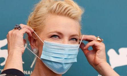 Venice film festival jury president Cate Blanchett.