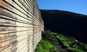 The border fence between Mexico and the US. Washington is gearing up for a fraught battle over the proposal.