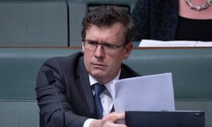 Alan Tudge in federal parliament
