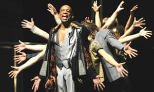A scene from Babel(words) by Sidi Larbi Cherkaoui at Sadler's Wells in 2010