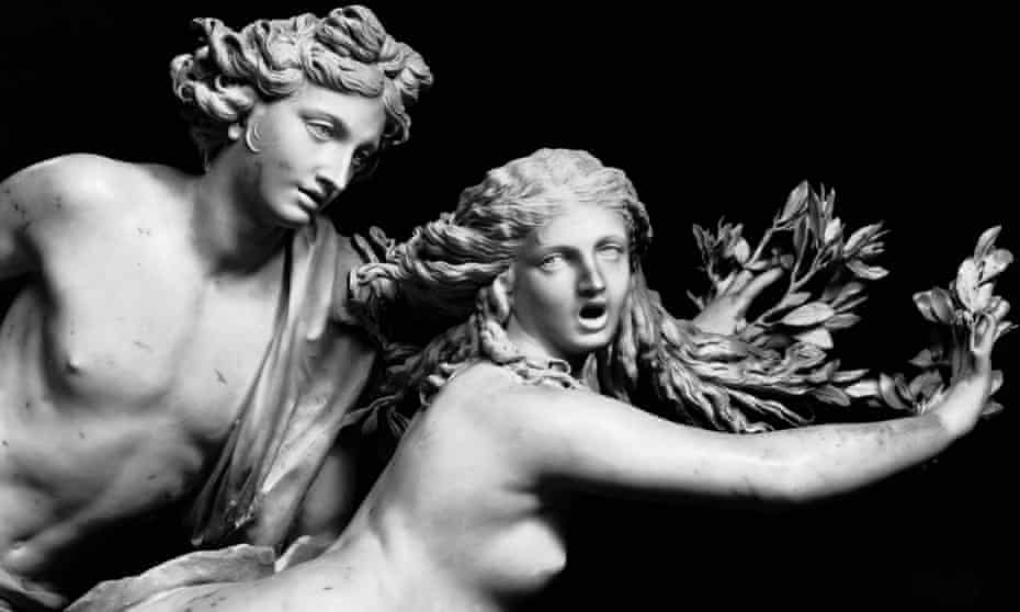 More Metamorphoses … Bernini's Apollo and Daphne.