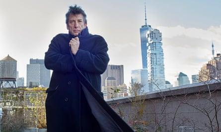 'I'm convinced one day I will write something decent': Neil Gaiman in New York.