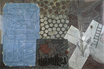 Untitled, 1992–4. Encaustic on canvas.