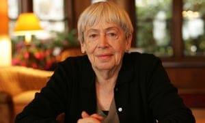 Ursula Le Guin, pictured at her home in California.