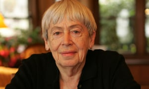 Ursula Le Guin at home in Portland, Oregon.
